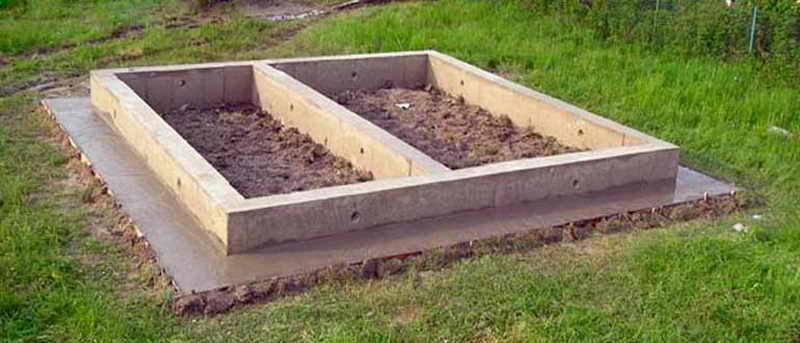 Какой фундамент выбрать для бани
