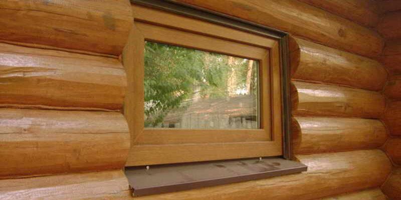 Окна в бане