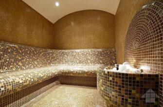 Плитка для пола в бане
