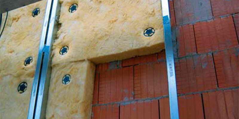 утепление фасада крепеж