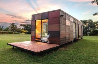 Быстровозводимый модульный дом