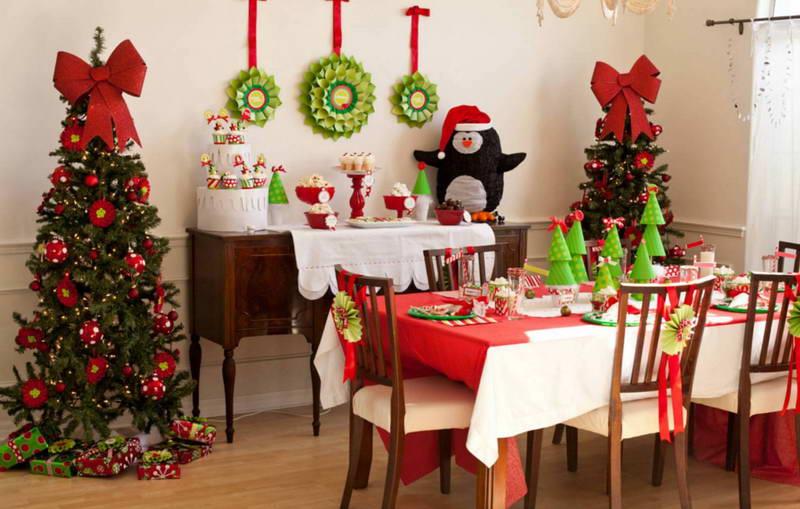 Декорируем дом к Новому году