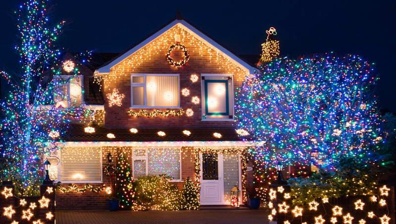 Идеи для новогоднего декора загородного дома