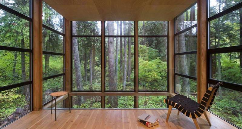 Панорамные окна для загородного дома