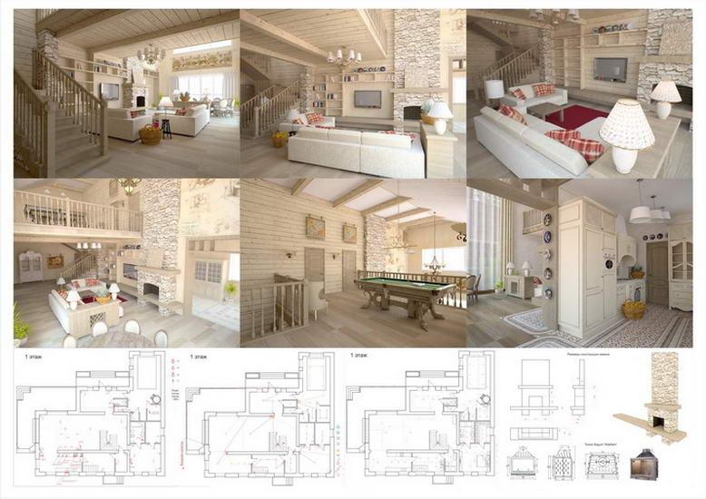 Дизайн-проект для загородного дома